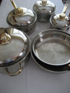 Cooking Set of Pots and Pans