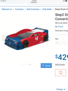 Step 2 Race Car Bed