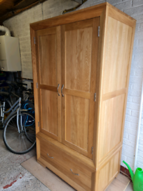 Wardrobe from oak furniture land