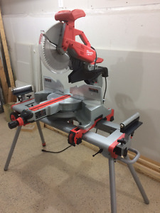 "Milwaukee 12"" Compound Miter Saw and Stand"