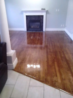 Hardwood flooring. Refinishing and installations. REdcoat. ANd.