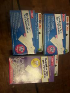 Unopened ovulation tests