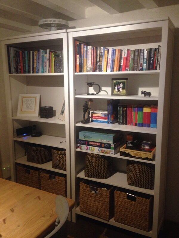 Ikea hemnes bookcase 70 in truro cornwall gumtree for Brusali bookcase