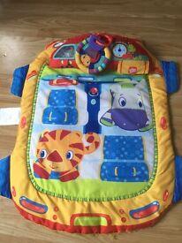 Bright starts baby Tummy time mat