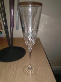 Brand new crystal glasses