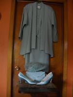 robe et accessoir de mère de marié