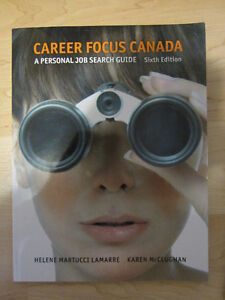 Career Focus Canada A Personal Job Research Guide (6th Edition) Kitchener / Waterloo Kitchener Area image 1