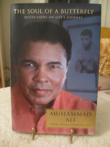"INSPIRING BOOK   ""THE SOUL of a BUTTERFLY..MUHAMMAD ALI"