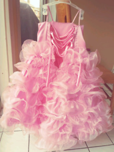 Used Girls Pageant/Evening/Flower Girl Gown
