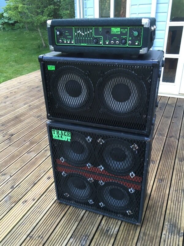 trace elliot bass guitar amplifier and speakers in galashiels scottish borders gumtree. Black Bedroom Furniture Sets. Home Design Ideas