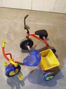Toddler toys, bike, ride on, scooter etc.