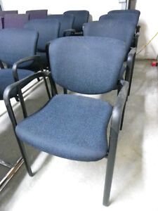 Chairs - Blue/Black Arms