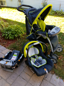 Chicco Car Seat, Base and Stroller