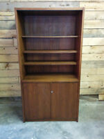 Solid Wood Vintage Liquor Cabinet - Delivery Available