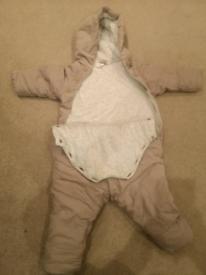 H&M padded snowsuit :