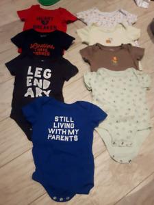 Lot vêtements été bébé garçon 12-18 mois (14 morceaux)