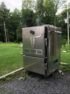 Fumoir - Smoker - BBQ - Stainless -charcoal - charbon