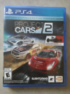 PROJECT CARS FOR PS4