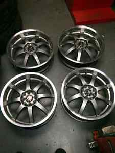 "17""X7 RIMS 4X100 FOR SALE"
