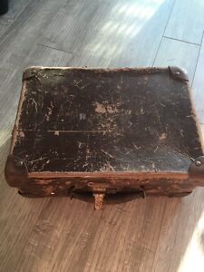 Rustic Vintage luggage