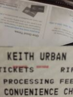 Keith urban tickets 200 obo