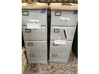 Brand new grey 4 drawer filing cabinets x 2 ( £40 each)