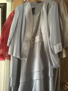Women's Formal wedding Mother of the Bride Dress and Jacket