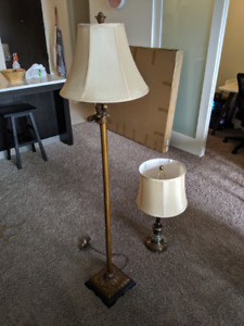 Desk Lamp and Table Lamp