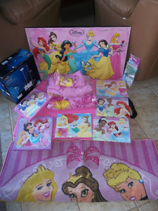 12 piece Princess bedroom set, everything you need NEW PRICE $60