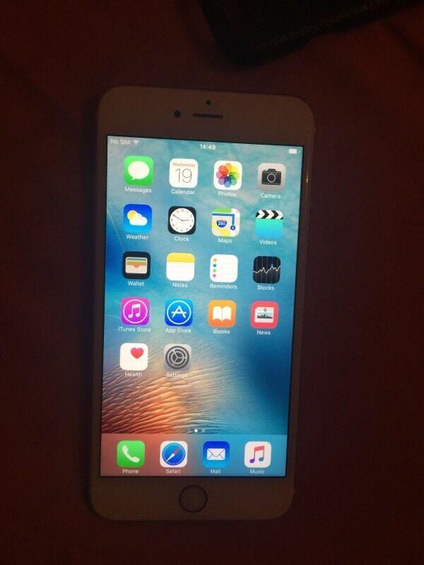 Iphone 6s plus 128gb warranty
