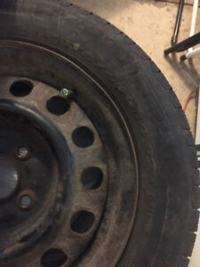 Pirelli summer tires 14 inch with rims good condition