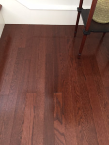 Solid Oak Hardwood Flooring.