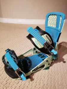 Ride Delta snowboard Bindings size M in great condition