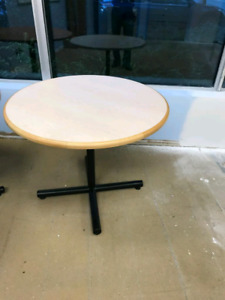"""4× Round tables 38"""" across"""