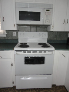 Electric Range & Over Top Range Microwave