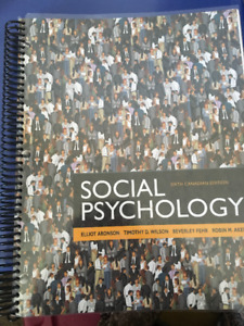 Social psychology buy or sell books in edmonton kijiji classifieds social psychology 6th edition aronson fandeluxe Gallery