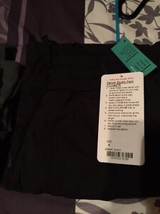 BNWT lined dance studio 2 pants Size 4 and black in color