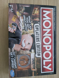 Brand new monopoly cheaters edition
