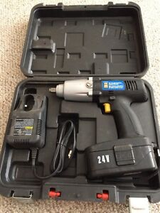Power fist 1/2 inch cordless impact wrench barely used!