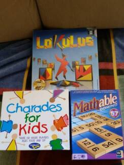 Board games: Lokulus⁄Mathable⁄Charades for kids Alfred Cove Melville Area Preview