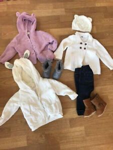 6-12 month girl fall clothing