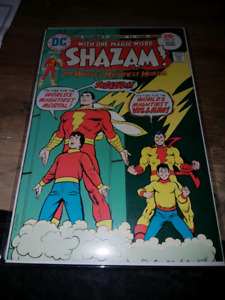BRONZE AGE HIGH GRADE SHAZAM DC COMICS!! CAPTAIN MARVEL!