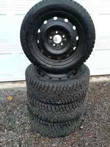 WINTER TIRES AND RIMS FOR CIVIC