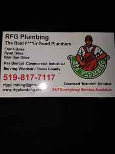 Time to  call the Real F***in Good Plumbers. RFG Plumbing  Windsor Region Ontario image 3