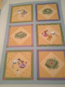"""""""Special Delivery"""" quilt top"""
