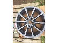 """17""""alloys wheels X 4"""