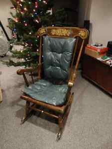 Solid Wood Rocking Chair Vintage 1974 $90 offers