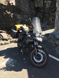 2013 BMW F700 GS 800cc bike w/ extras