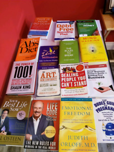 Great deal on selfhelp books
