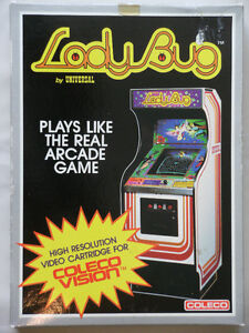 COLECO Video Game: LADY BUG.